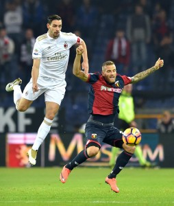 Guarda la versione ingrandita di Genoa - Milan 3-0 (foto Ansa)