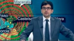 """YOUTUBE Terremoto, Giancarlo Usai in diretta a RaiNews: """"Trema tutto"""""""
