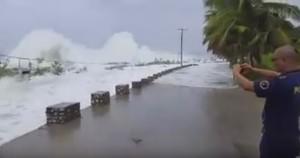 Uragano Matthew si abbatte su Haiti, onde spaventose