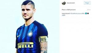Guarda la versione ingrandita di Mauro Icardi resta capitano Inter ma...via da autobiografia pagine su ultras (foto Instagram)
