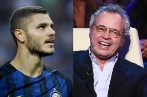 "Icardi, Enrico Mentana: ""Tamarro, ma io sto con lui"""