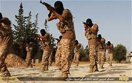 Combattenti Isis a Sirte