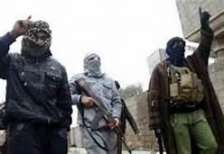 Miliziani dell' Isis
