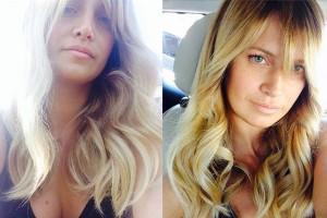 Guarda la versione ingrandita di Katia Pedrotti prima e dopo