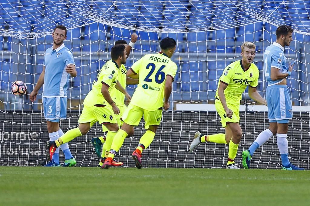 Lazio - Bologna 1-1 (foto Ansa)