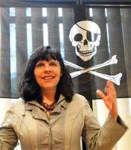 La leader dei ''Pirati'' Birgitta Jonsdottir