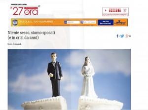 """Maria e la lettera al Corriere della Sera: """"Con mio marito vorrei..."""""""
