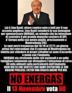 """Lino Banfi, accusato per spot Energas si difende: """"Faccio il mio lavoro"""""""