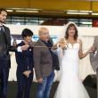 Vladimir Luxuria sfila in abito da sposa a Bolognafiere1