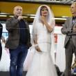 Vladimir Luxuria sfila in abito da sposa a Bolognafiere06