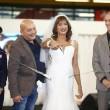 Vladimir Luxuria sfila in abito da sposa a Bolognafiere07
