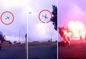 Malta, aereo cade dopo il decollo: le immagini dello schianto