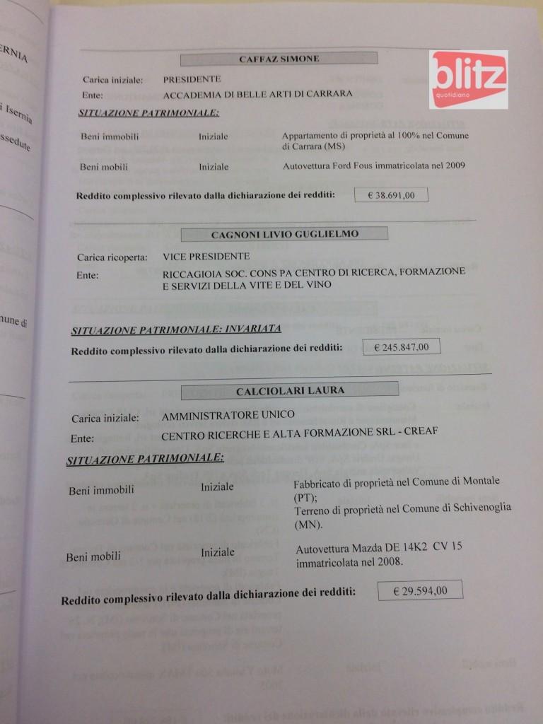 Redditi dei manager pubblici, l'elenco: da Cabella a Cuttica di Revigliasco (C) 21