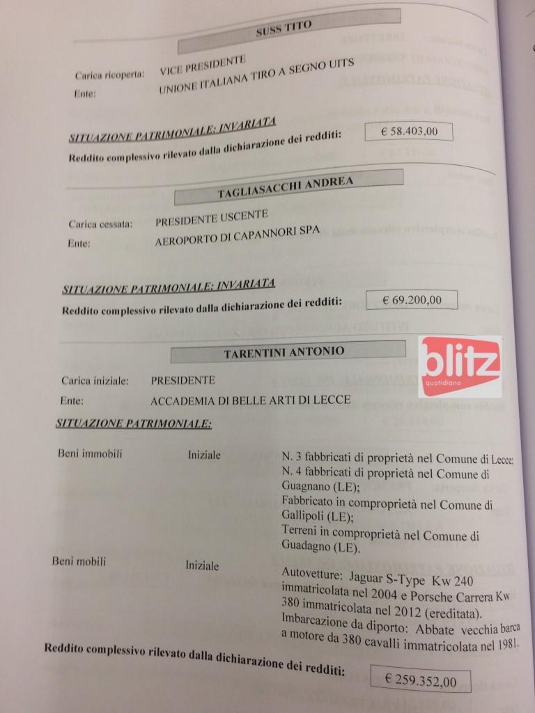Redditi dei manager pubblici, l'elenco: da Tagliasacchi a Zuccarini (T-U-V-Z) 14