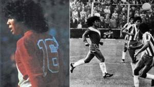 YOUTUBE Maradona: 40 anni fa l'esordio. Primo pallone un tunnel