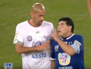 "Maradona a Veron: ""Hijo de p..."" Lite in campo alla ""Partita della Pace"" VIDEO"