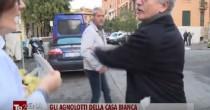 YOUTUBE D'Alema rovescia gli agnolotti referendari a inviata de L'Arena di Giletti