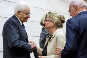 """Mattarella consegna una Medaglia d'Oro """"Al Merito della Sanit� Pubblica"""" alla memoria alla Dott.ssa Eleonora Cantamessa"""