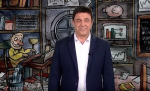 """YOUTUBE Maurizio Crozza: """"Renzi mi fa dare dell'onesto a Berlusconi"""""""
