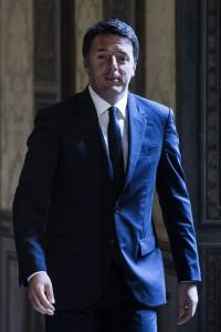 Il presidente del consiglio Matteo Renzi  ANSA/ANGELO CARCONI