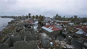 Devastazioni ad Haiti