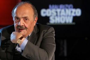 Maurizio Costanzo (foto Ansa)