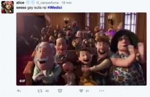 Guarda la versione ingrandita di I Medici, su Rai1 l'amore gay: Twitter esulta