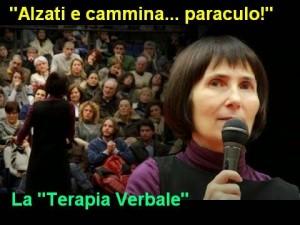 Guarda la versione ingrandita di Gabriella Mereu, la santona delle parolacce, denunciata dall'Ordine Medici
