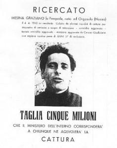 Graziano Mesina, ex bandito sardo, assolto per omicidio 1974