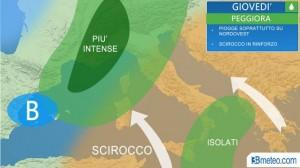 Guarda la versione ingrandita di Previsioni meteo: maltempo al Nord da giovedì, rischio nubifragi