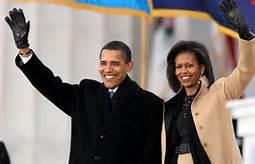 Guarda la versione ingrandita di Obama e Michelle