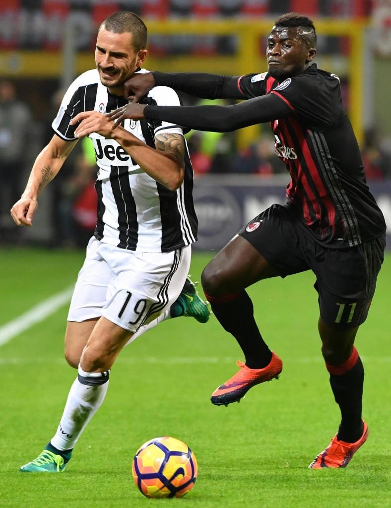 Milan - Juventus (foto Ansa)