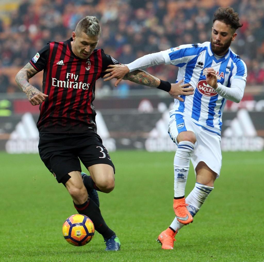 Milan - Pescara 1-0 (foto Ansa)