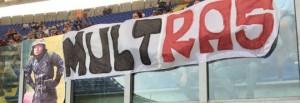 Alberto Sordi vigile, striscione all'Olimpico di Roma3