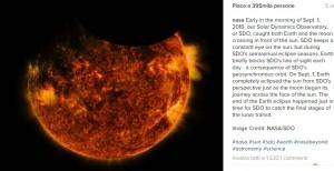 Guarda la versione ingrandita di Era glaciale nel 2019, il Sole si spegnerà. FOTO Nasa delle macchie solari (foto Instagram)