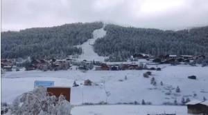 Guarda la versione ingrandita di VIDEO Livigno, arriva la prima neve: il nord già pronto per lo sci