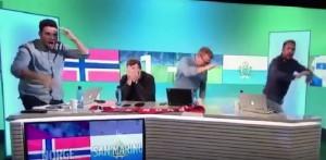 Guarda la versione ingrandita di San Marino segna in trasferta, in Norvegia impazziscono in tv