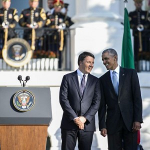 Guarda la versione ingrandita di Obama, assist a Renzi:
