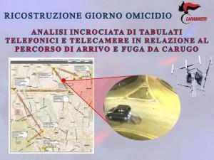 Guarda la versione ingrandita di Omicidio Alfio Vittorio Molteni: arrestata ex moglie e commercialista (foto Ansa)
