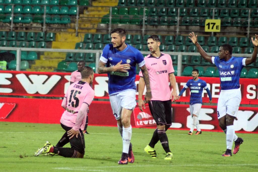 Palermo - Udinese, foto Ansa