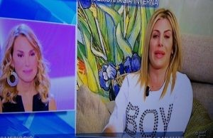"""Paola Caruso racconta a Barbara D'Urso: """"Emorragia improvvisa, ho avuto paura"""""""