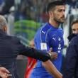 Graziano Pellè escluso dalla Nazionale, non ha dato la mano a Ventura dopo il cambio