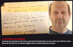 Giuseppe Pensierini, sua casa all'asta la compra un amico. Lui si impicca