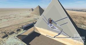 Due cavità nascoste sotto la Piramide di Giza: mistero in Egitto