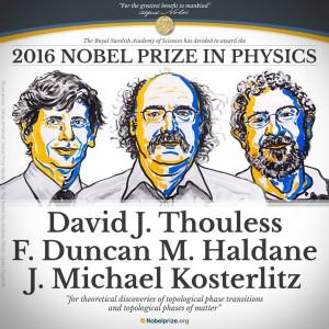 Nobel Fisica 2016 agli scienziati Thouless, Duncan Haldane e Kosterlitz