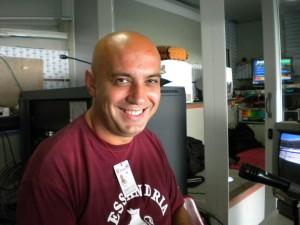 Guarda la versione ingrandita di Stefano Venneri, dj prova record: 204 ore in diretta senza dormire