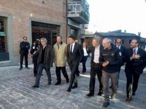 """Terremoto, Renzi da Camerino: """"Già stanziati 40 milioni"""""""