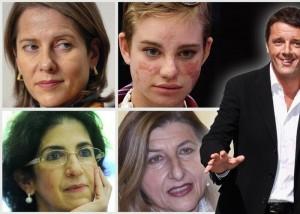 Renzi a cena da Obama porta 4 donne simbolo di eccellenza italiana