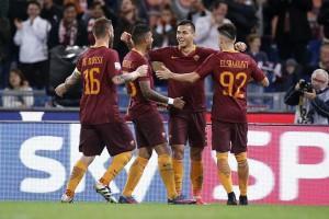 Guarda la versione ingrandita di Roma - Palermo 4-1, foto Ansa