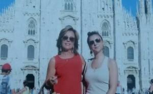Rossella Tarantola e la figlia Margherita (foto Facebook)